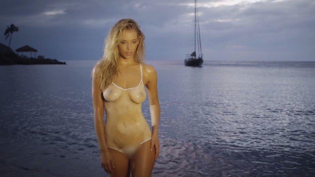 Hannah Ferguson's Body Paint 15 thefappening.so