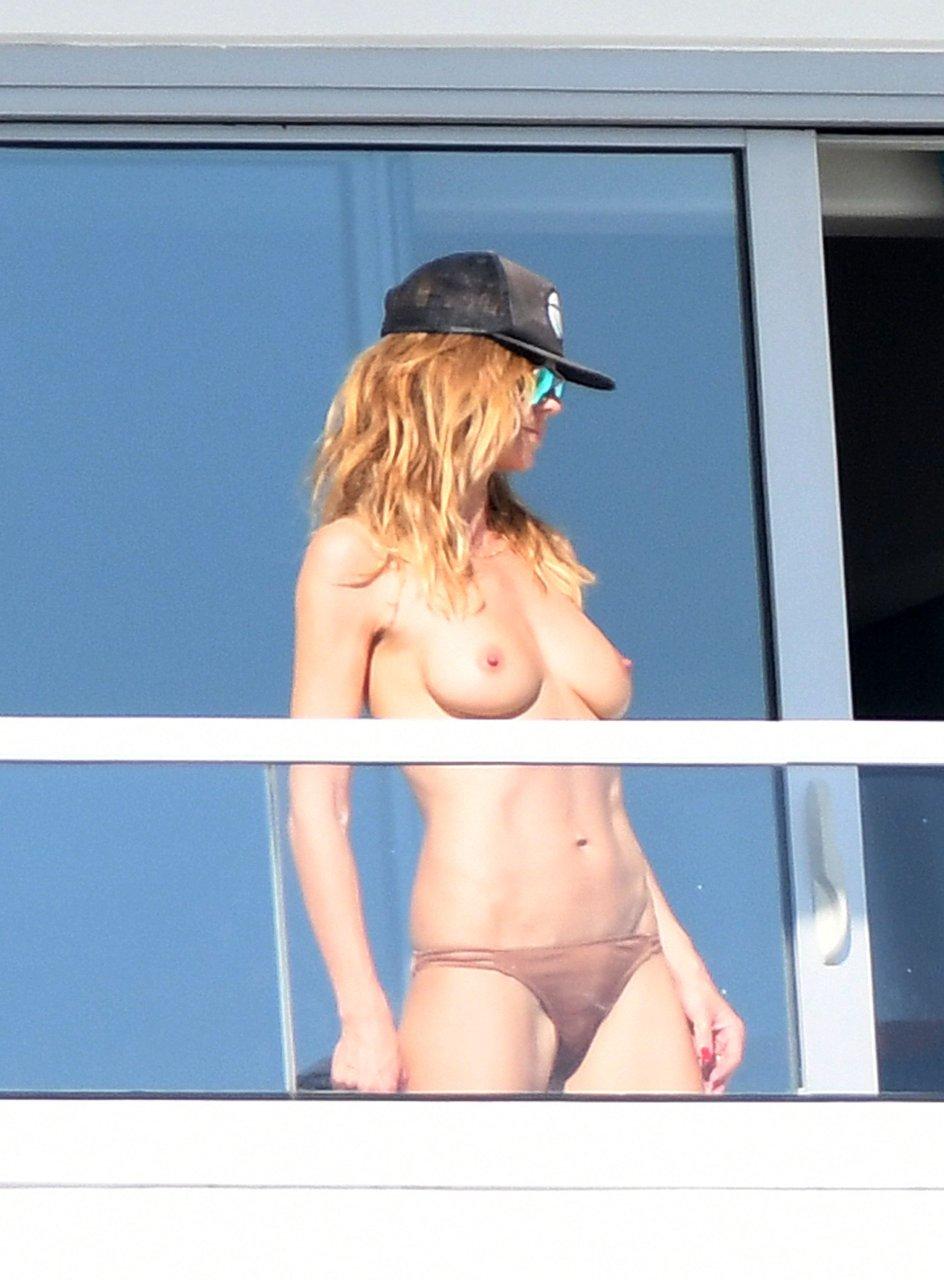Heidi klum naked miami