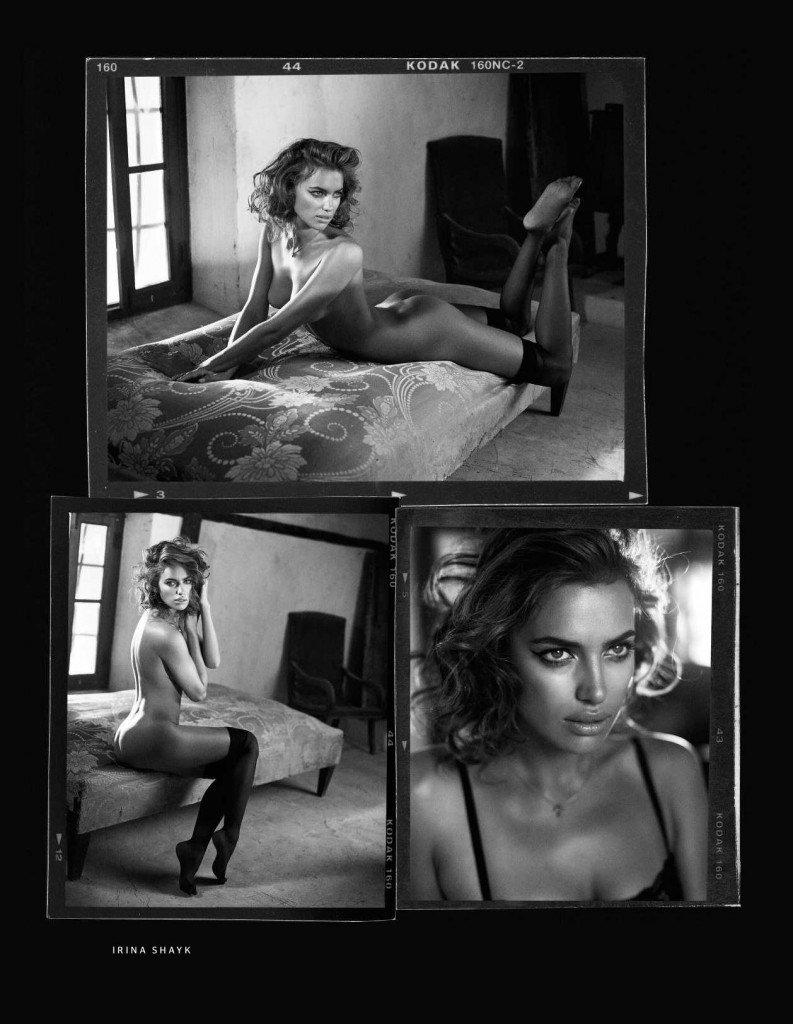 Irina Shayk Nude (2 Hot Photos)