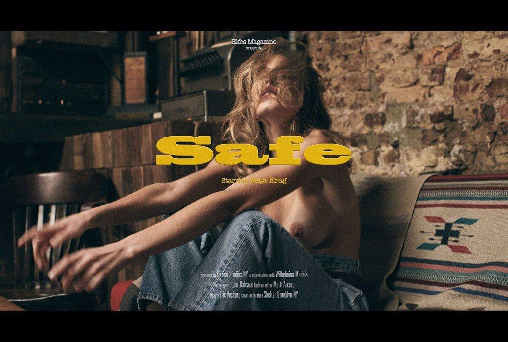 Maja Krag Topless & Sexy1