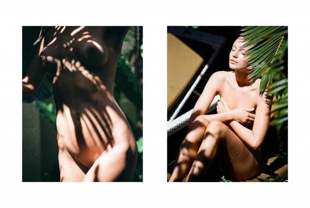 Maya Stepper & Jelena Marija Naked (5 Photos)