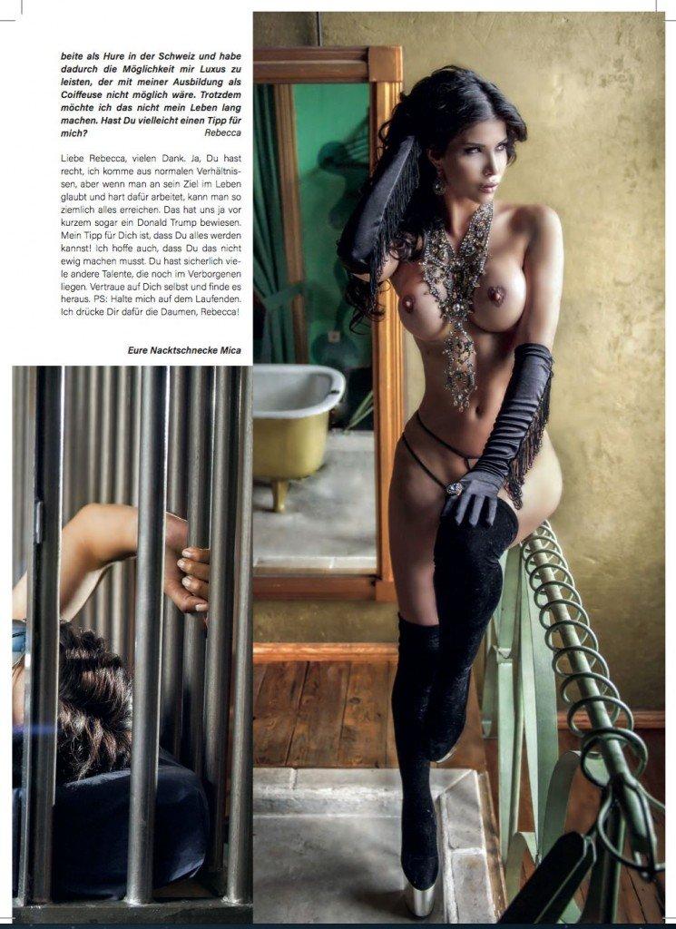 Micaela Schäfer Topless (6 New Photos)