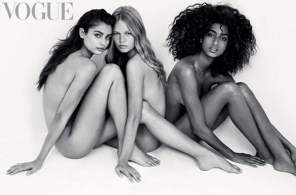 Taylor Hill, Anna Ewers, Imaan Hammam Nude