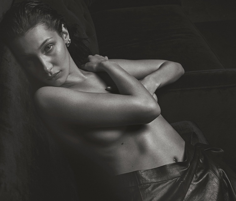 hadid naked pics Bella