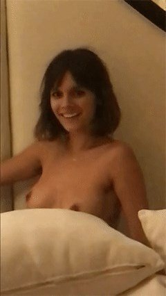 Caitlin Stasey Topless (2 Photos + GIFs)