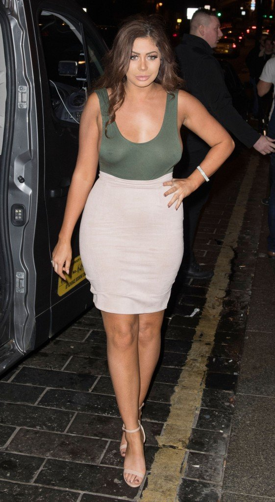 Chloe Ferry Braless 3 thefappening.so