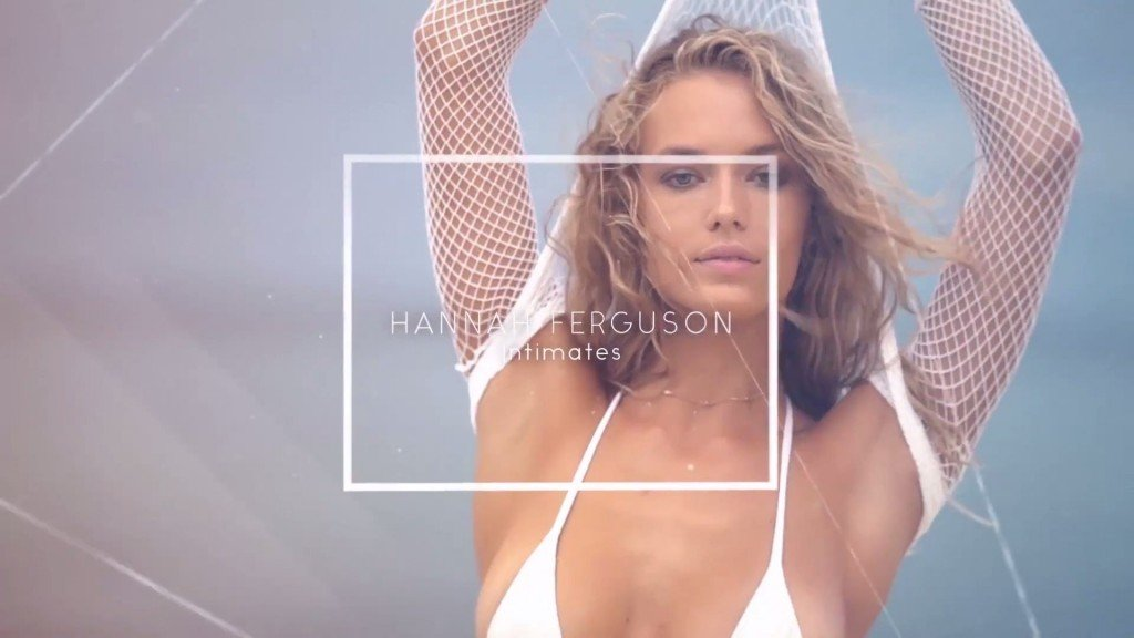 Hannah Ferguson Sexy Topless 3