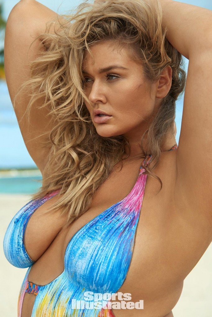 Hunter McGrady Bodypaint 1 thefappening.so