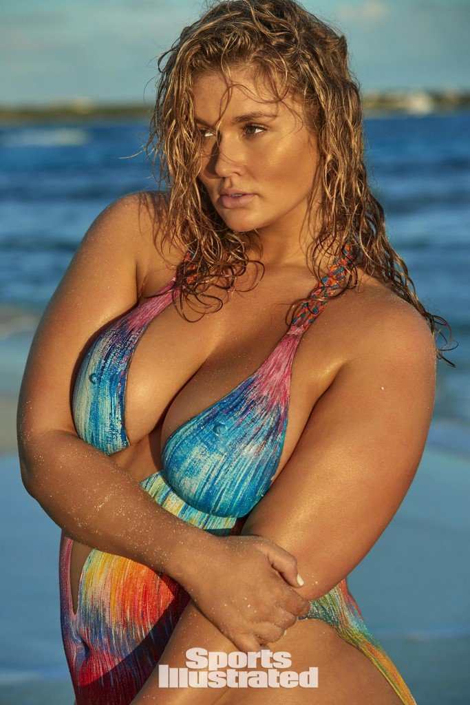 Hunter McGrady Bodypaint 12 thefappening.so