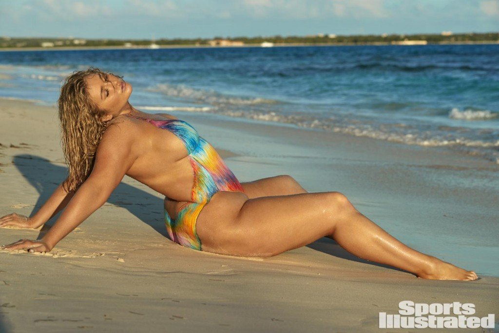 Hunter McGrady Bodypaint 8 thefappening.so