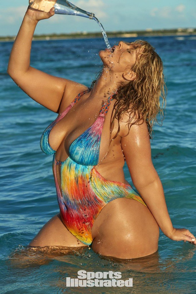 Hunter McGrady Bodypaint 9 thefappening.so
