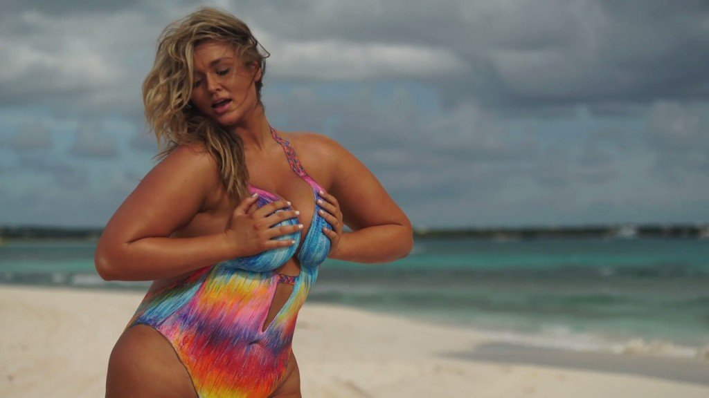 Hunter McGrady Bodypaint Uncovered 11 thefappening.so