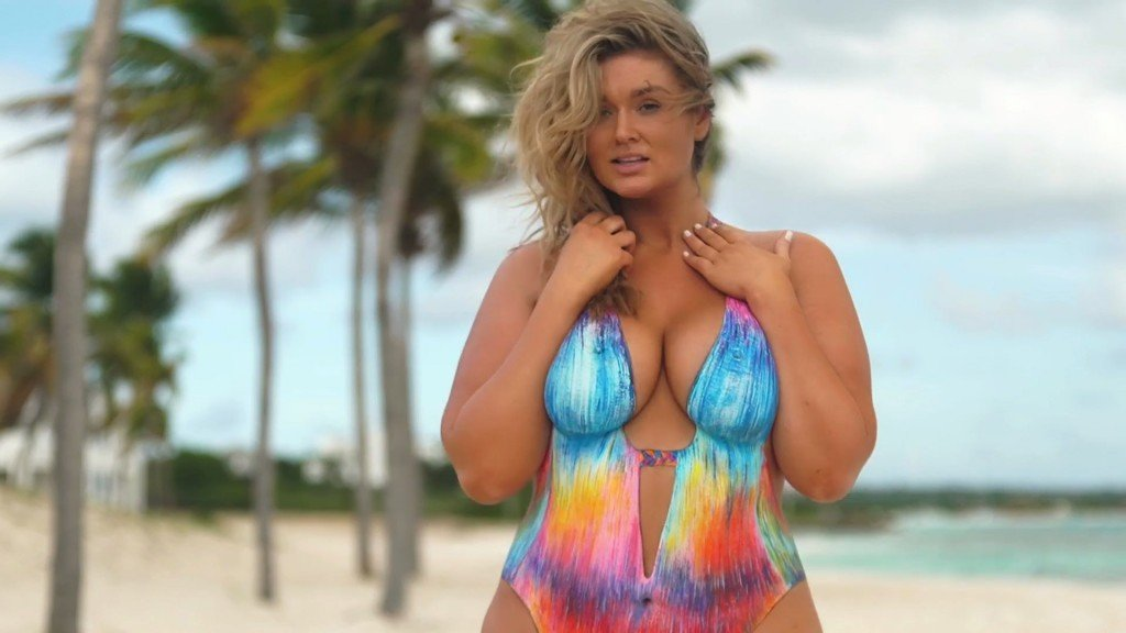 Hunter McGrady Bodypaint Uncovered 12 thefappening.so