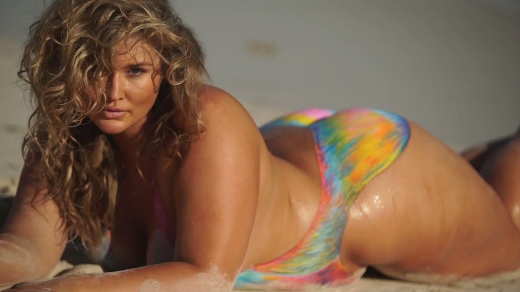 Hunter McGrady Bodypaint Uncovered 22 thefappening.so