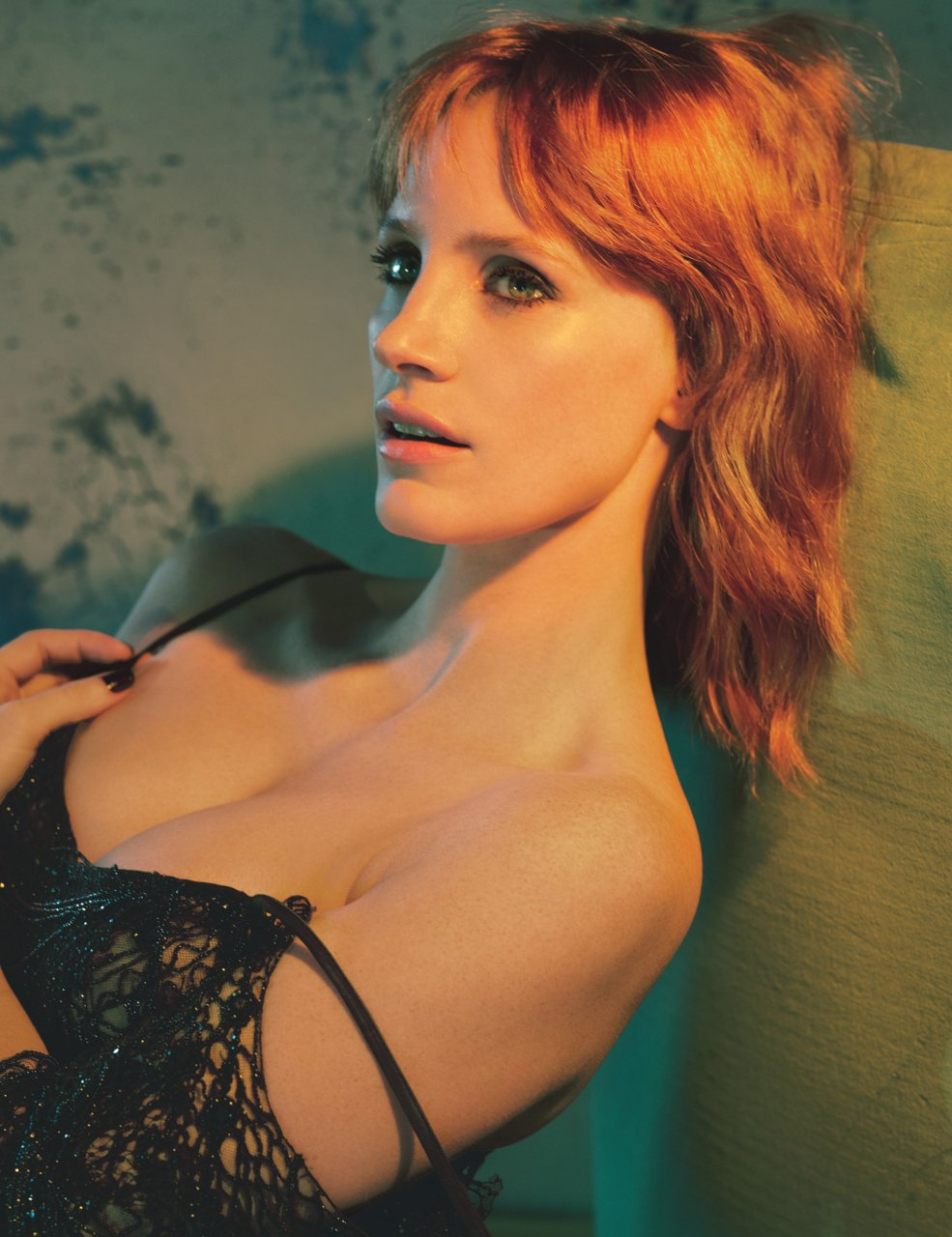nude photos of jessica chastain