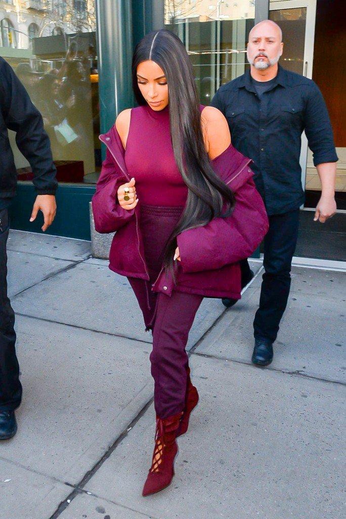 Kim Kardashian See Through (54 Photos)