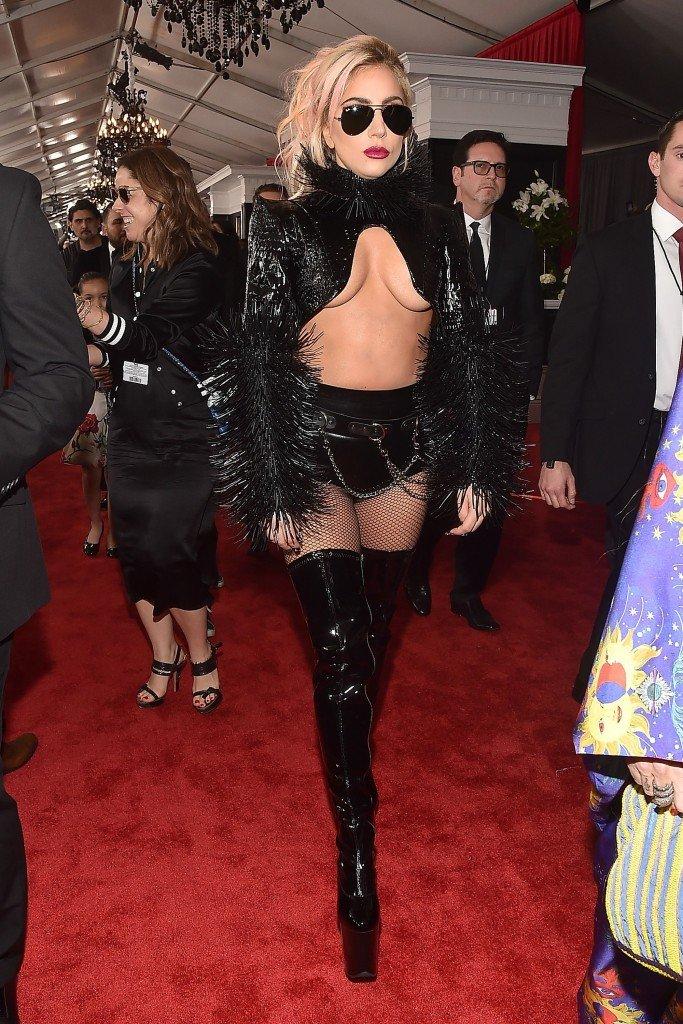 Lady Gaga Underboob 1