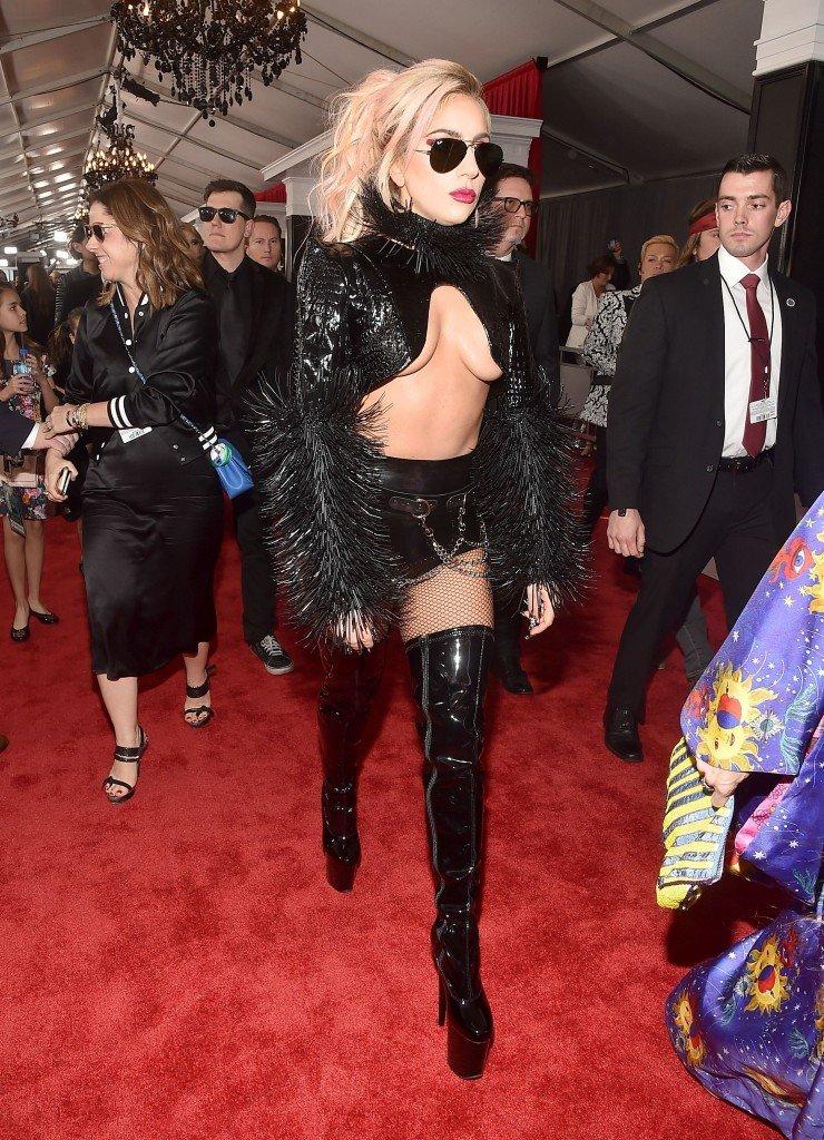 Lady Gaga Underboob 5