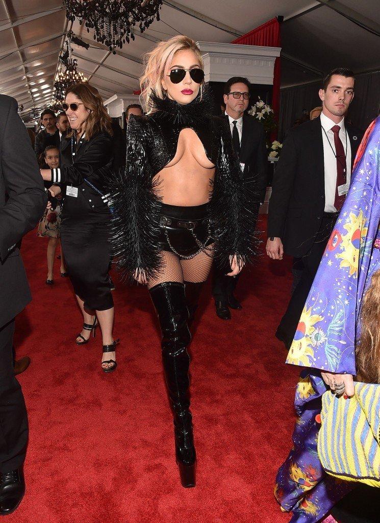 Lady Gaga Underboob 6