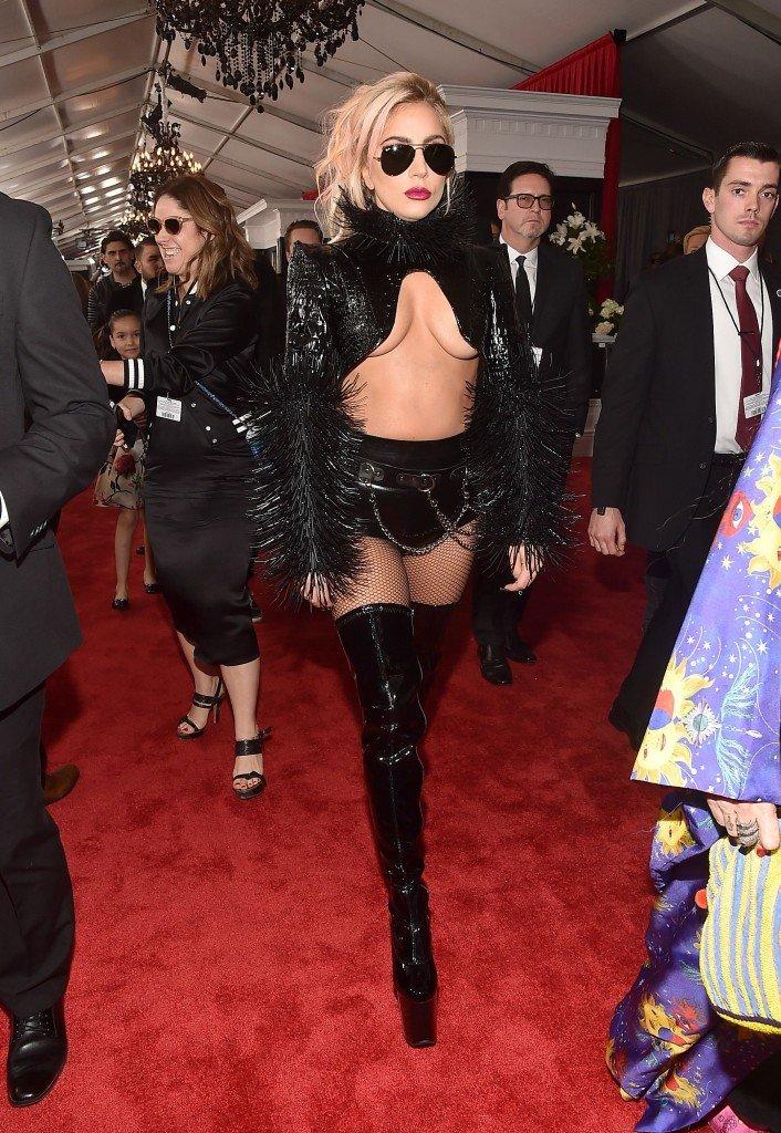 Lady Gaga Underboob 7
