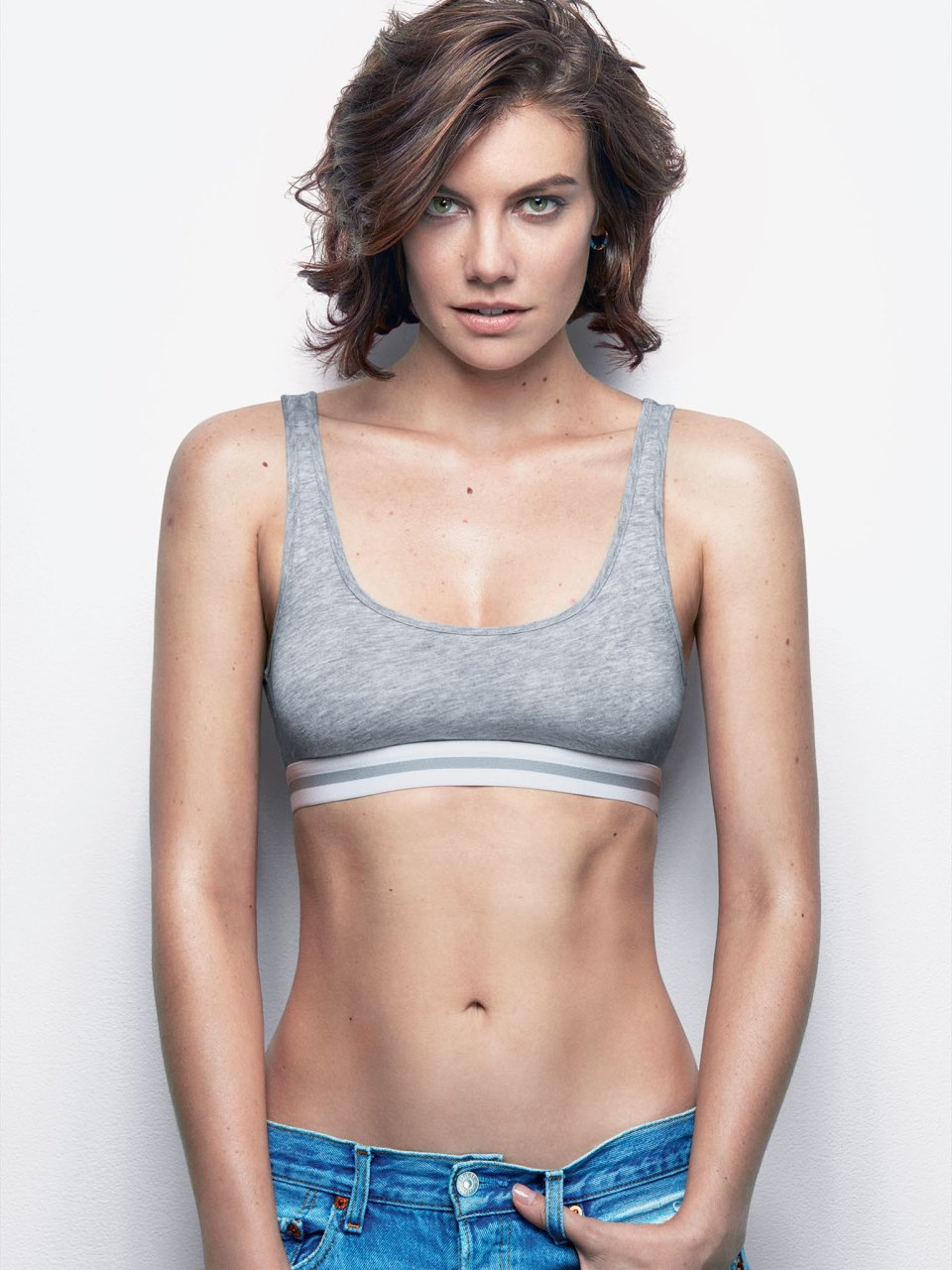 Would...... lauren cohan naked watching man