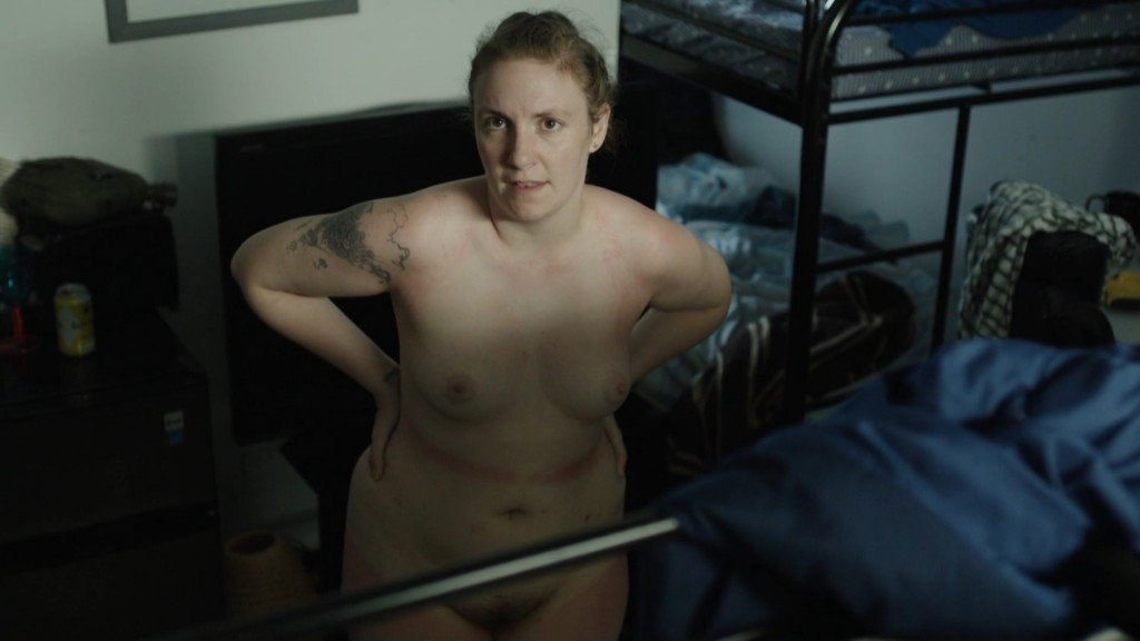 Think, that Lena dunham nude naked think, that
