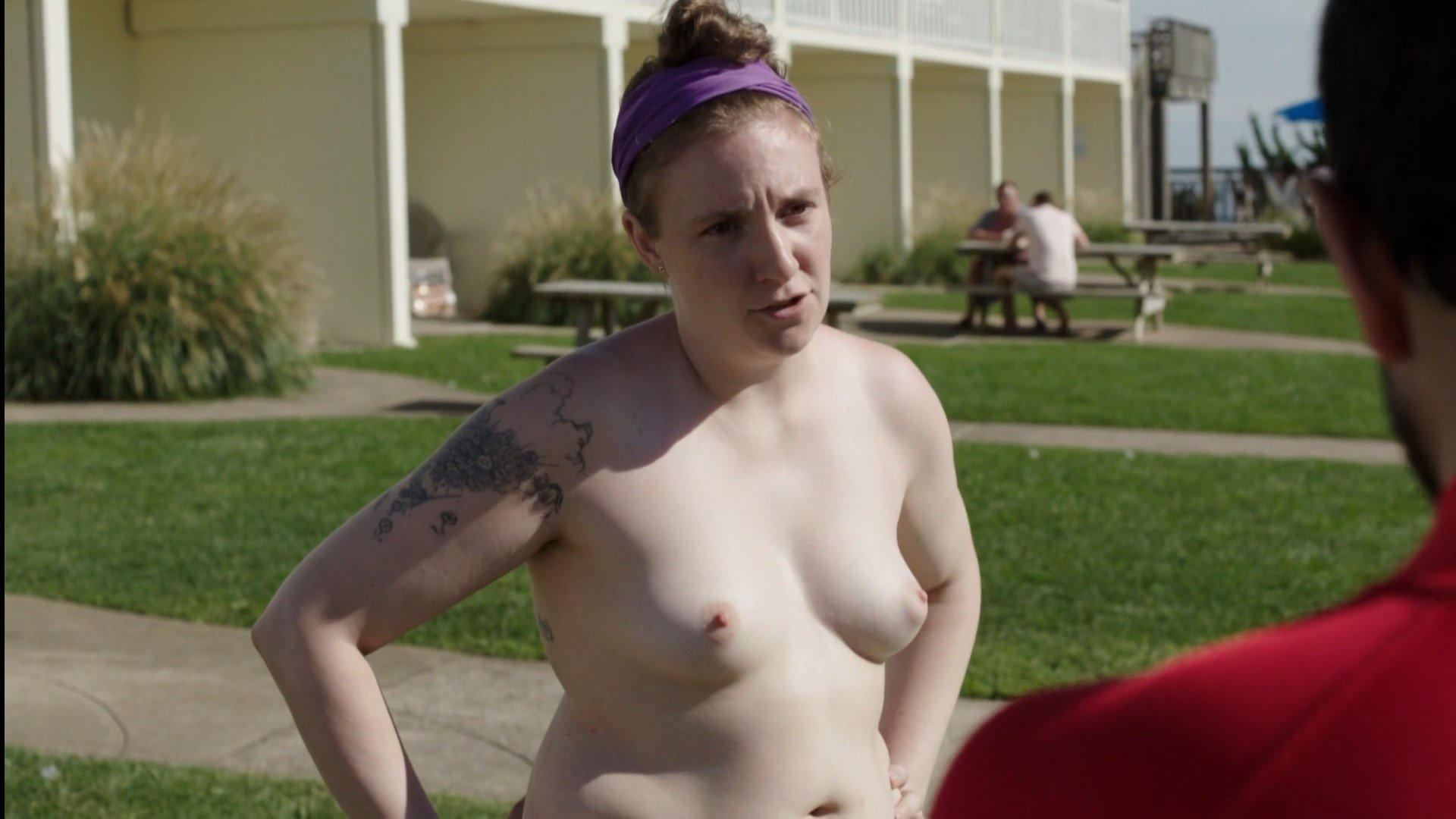 Lena dunham nude topless and sex in girls s03e10 5