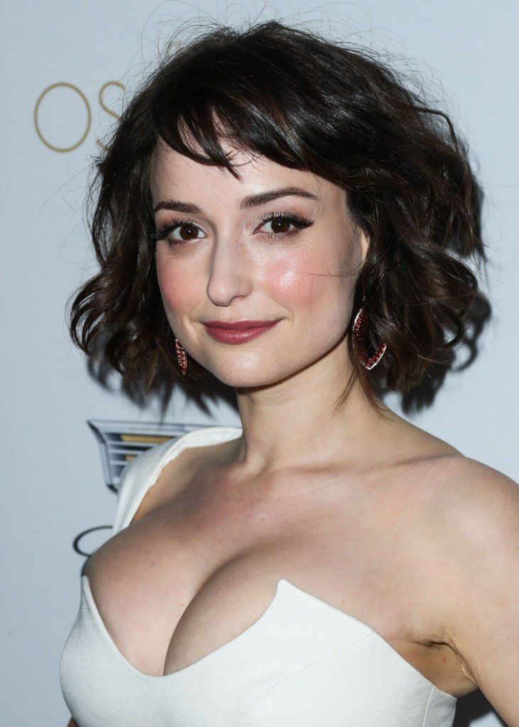Milana Vayntrub's Clevage 1 thefappening.so