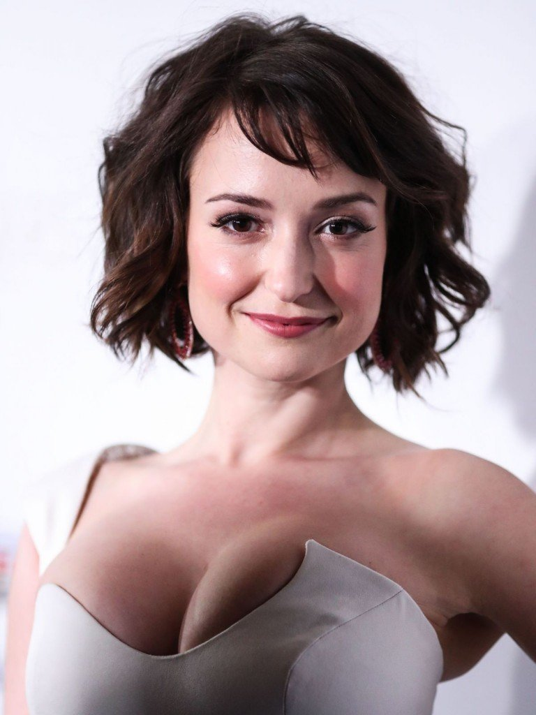 Milana Vayntrub's Clevage 10 thefappening.so