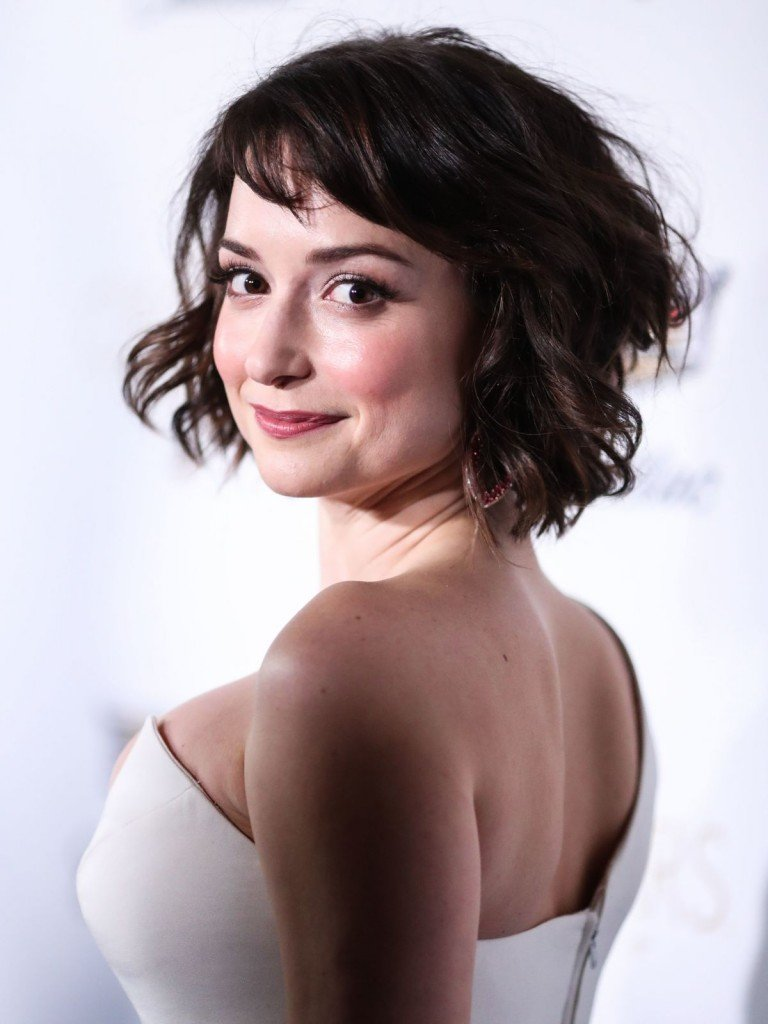 Milana Vayntrub's Clevage 12 thefappening.so
