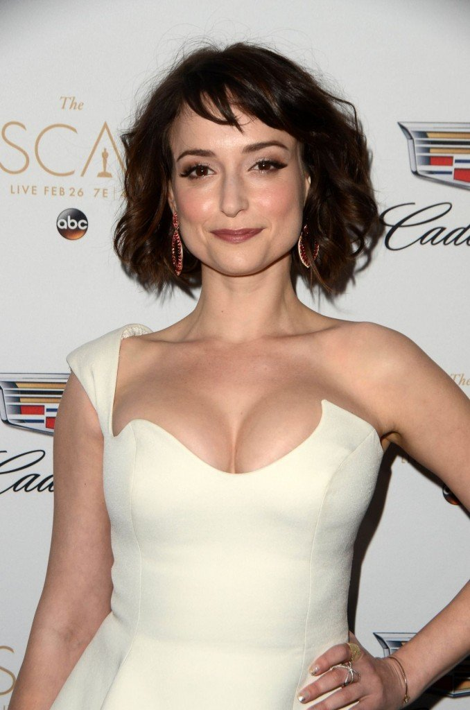 Milana Vayntrub's Clevage 4 thefappening.so