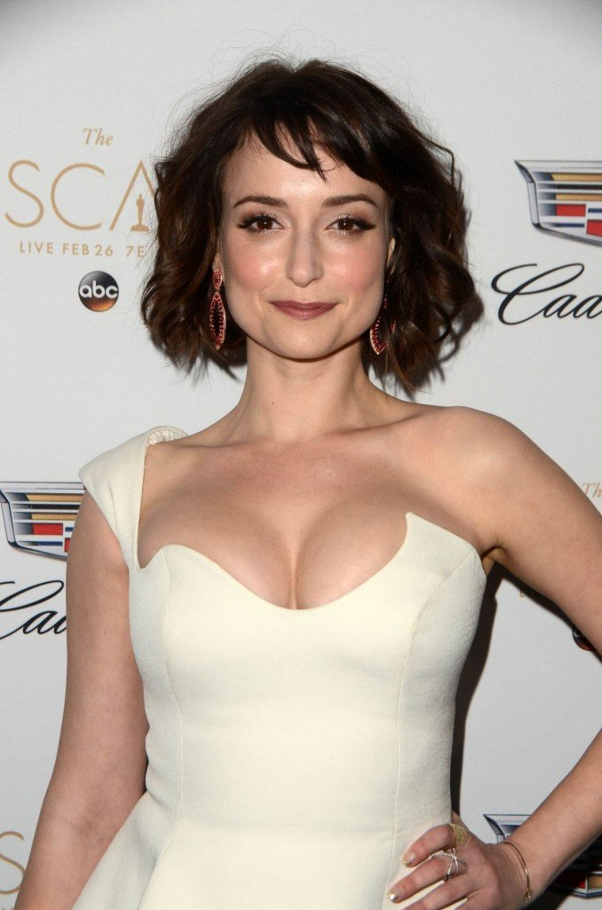 Milana Vayntrub's Clevage 5 thefappening.so