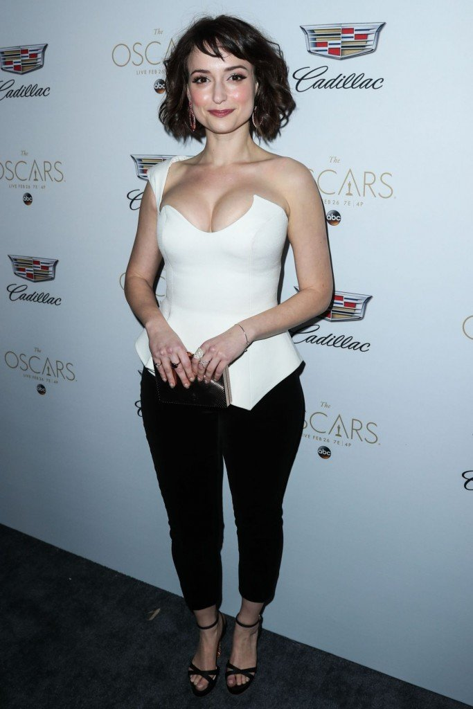 Milana Vayntrub's Clevage 6 thefappening.so