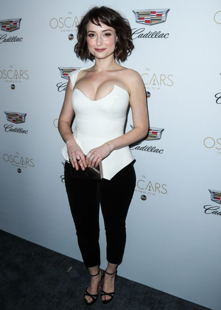Milana Vayntrub's Clevage 7 thefappening.so