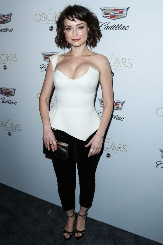 Milana Vayntrub's Clevage 8 thefappening.so
