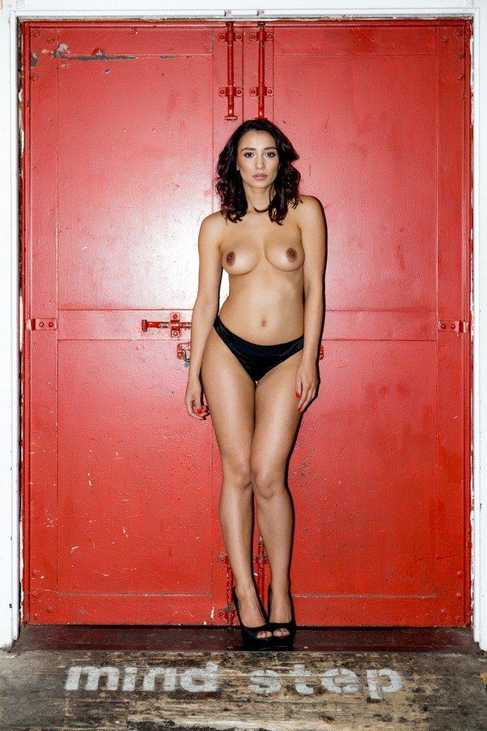 Nicola Paul Sexy and Topless 4