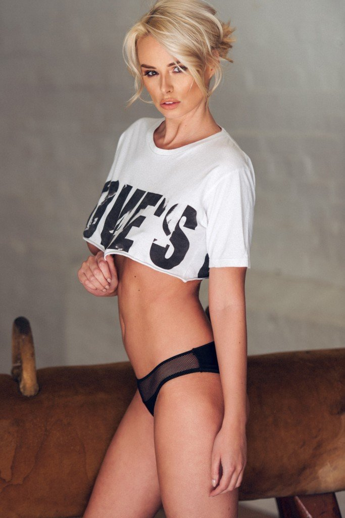 Rhian Sugden Sexy and Topless 1