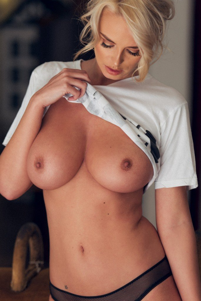 Rhian Sugden Sexy and Topless 4