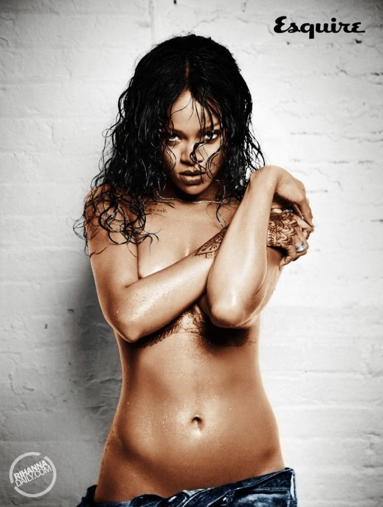 from Marlon rihanna hot x nude