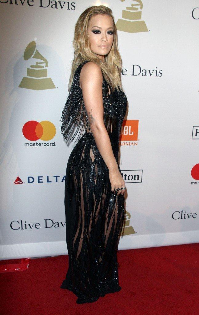 Rita Ora Pantyless 5