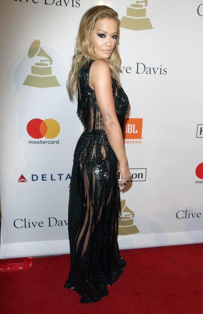 Rita Ora Pantyless 6