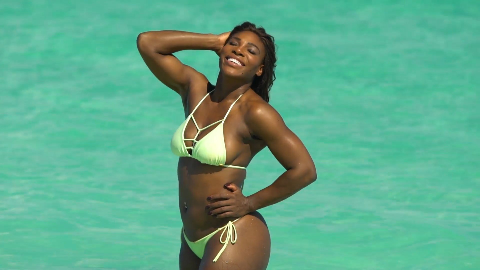 Serena Williams Sings I Touch Myself Topless For Breast Cancer Awareness