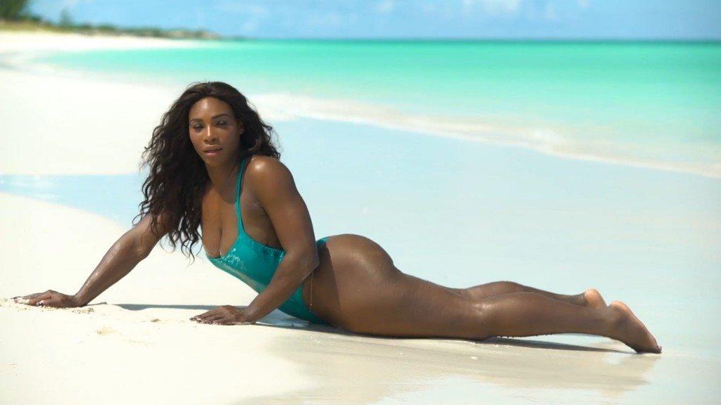 Serena Williams Sexy Unc 17