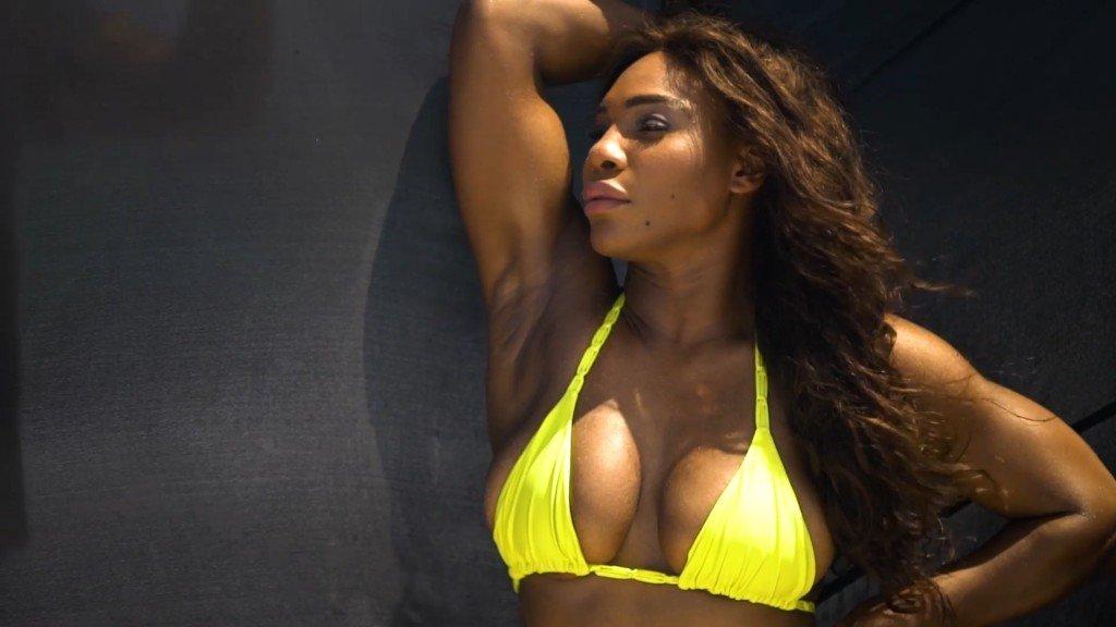 Serena Williams Sexy Unc 24