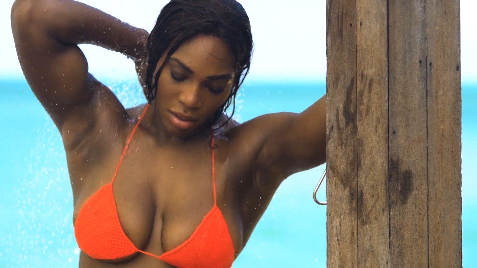 Idea Matchless Serena williams bikini can