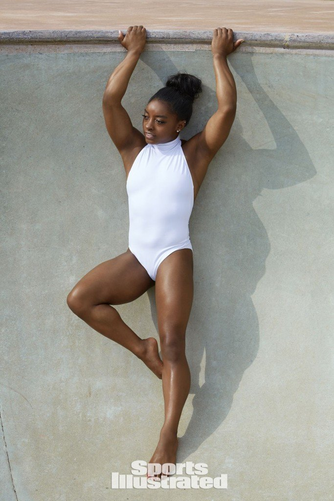 Simone Biles Sexy – 2017 'Sports Illustrated' Swimsuit Issue