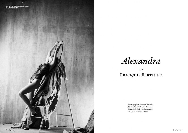 Zimny nude alexandra Alexandra Zimny