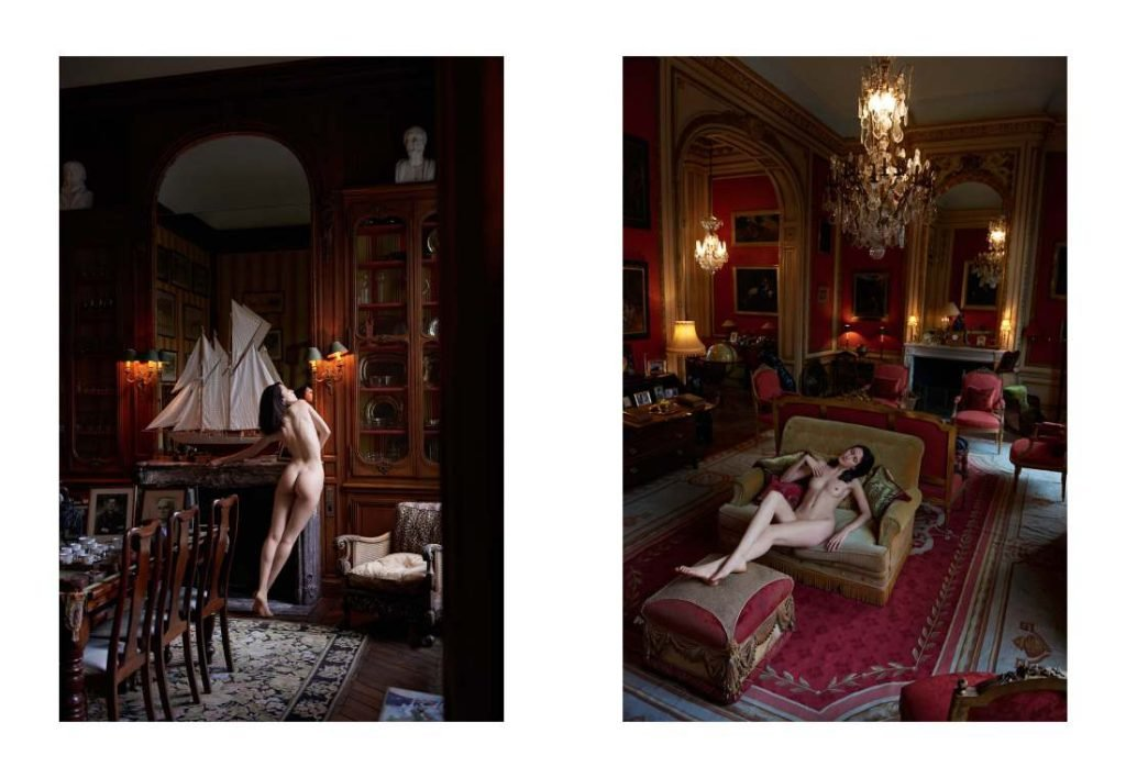Anna Cleveland Nude (2 Photos)
