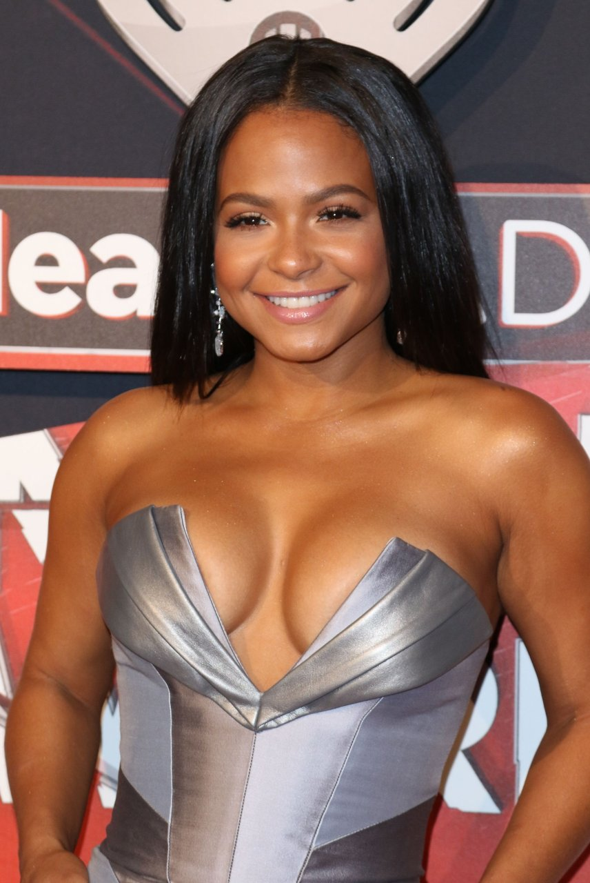 Christina milian naked breasts join. All