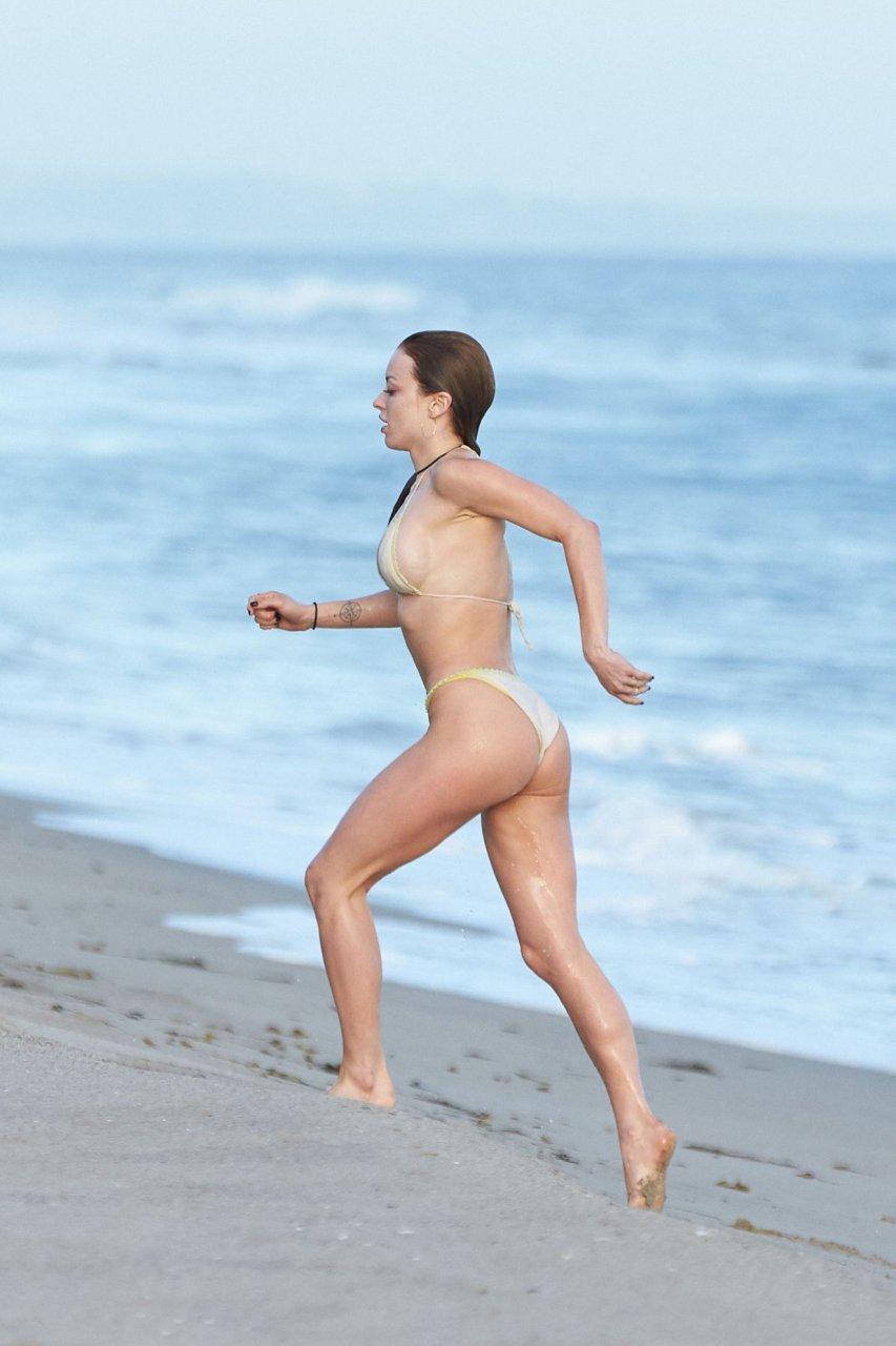 Sexy topless beach